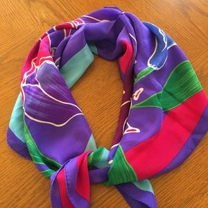 Pretty Silk Spring Scarves